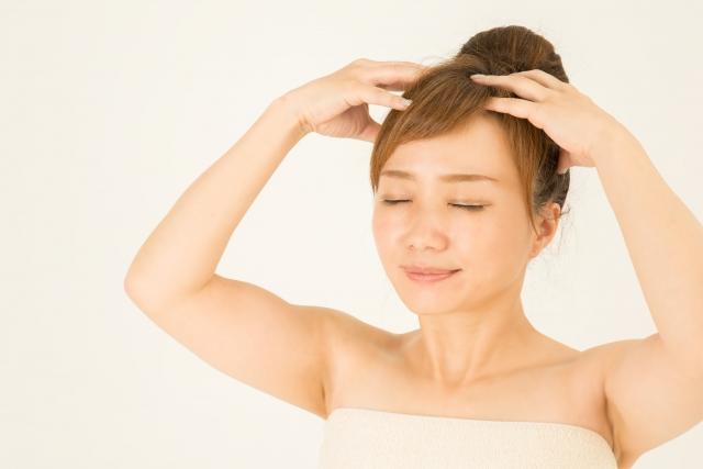 簡単!頭皮の血行促進法。毎日のケアで抜け毛を予防